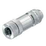M12 Female (Socket) B-Cord Connector