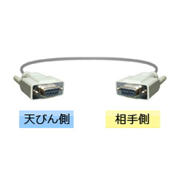 RS-232C Cable (Connector Shape: D-Sub 9 Pin)
