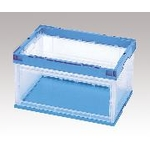 Transparent Foldable Container with Window