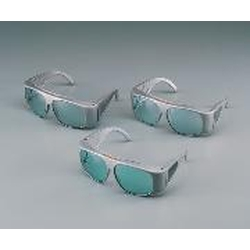 Complete Laser Light Absorbing Two-Piece Glasses