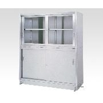Stainless Steel Storage Sliding Door on Top Stainless Steel Sliding Door on Bottom Width (mm) 900–1800