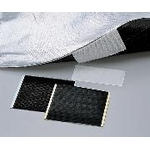 Wide Magic Tape, 100 mm X 100 mm, White and Black