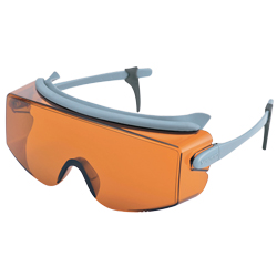 Laser Light Absorbing Glasses (1/10000 Attenuation Partial Transmission)