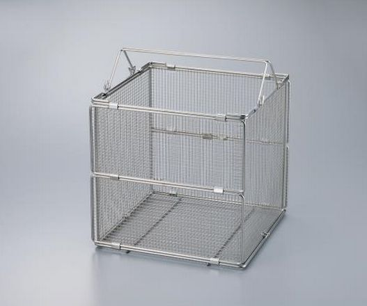 Stainless Steel Folding Washing Basket