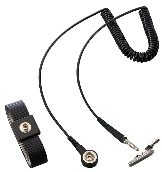 ASPURE Wrist Strap II, Stainless Steel Band with Cord