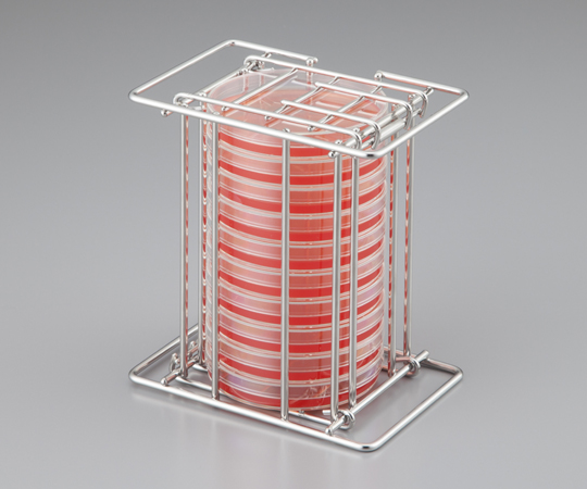 Petri Dish Rack for Upside Down Stacking STS-10