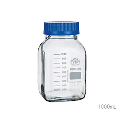 Wide-Mouth Medium Bottle Transparent 1000mL