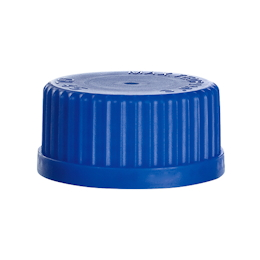 Medium Bottle Replacement Cap Cap (Blue) 140℃ GL45