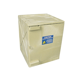 Acid-Proof Cabinet (Assembling Type) White 458 x 458 x 559