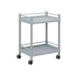 Mobile Storage Cart (Guard Frame, with Handle) 2 Stages 651 x 447 x 830