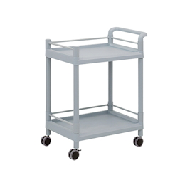 Mobile Storage Cart (Guard Frame, with Handle) 2 Stages 705 x 447 x 887