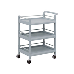 Mobile Storage Cart (Guard Frame, with Handle) 3 Sages 705 x 447 x 920
