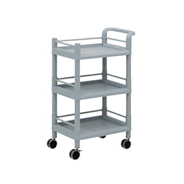 Mobile Storage Cart 3 Sages 610 x 370 x 885 (With Guard Frame And Handle)