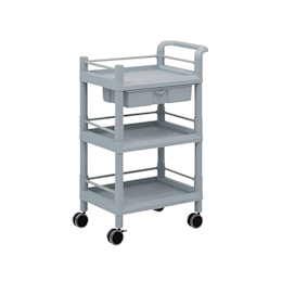Mobile Storage Cart 3 Sages 610 x 370 x 885 (Including Drawer, Guard Frame, Handle)