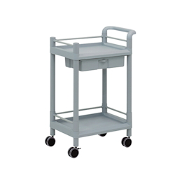 Mobile Storage Cart 2 Stages 610 x 370 x 897 (Including Drawer, Guard Frame, Handle)