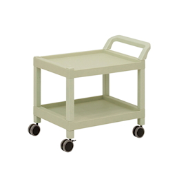Mobile Cart (Rectangular Column Type) 2 Stages 690 x 435 x 620