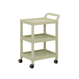 Mobile Cart (Rectangular Column Type) 3 Sages 690 x 435 x 900