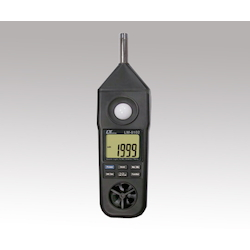 Multi-Environment Measuring Instrument Temperature, Humidity, Illuminance, Wind Velocity, Noise LM-8102