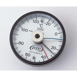 Bimetal Surface Thermometer TMS50N-250 with Low Temperature, High Temperature Each Display Needle