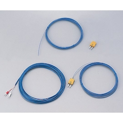 Coated Thermocouple (K Thermocouple: Duplex) Dk-K-Bl-5m-Y Terminal