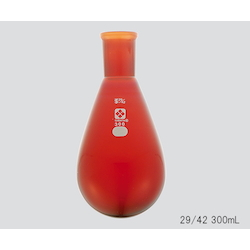 Common Sliding Eggplant Flask (Brown) 29/42 50mL