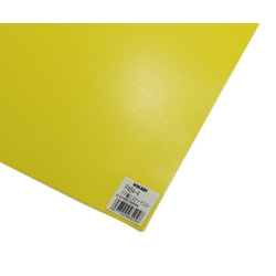 PP Sheet Yellow 460x650x0.2 mm