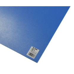 PP Sheet Light Blue 485x570x0.75 mm