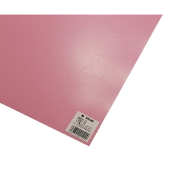PP Sheet Pink 920x650x0.2 mm