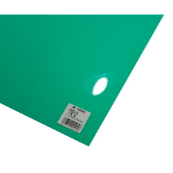 PP Sheet Green 920x650x0.2 mm