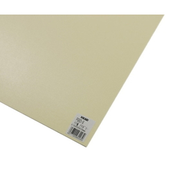 PP Sheet Ivory 970x570x0.75 mm