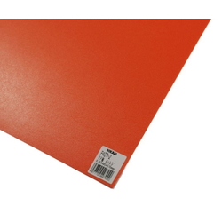 PP Sheet Orange 485x570x0.75 mm