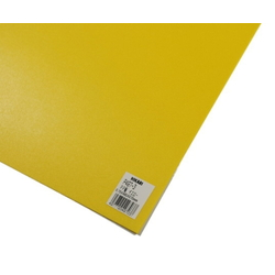 PP Sheet Yellow 485x570x0.75 mm
