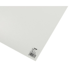 PP Sheet White 485x570x0.75 mm