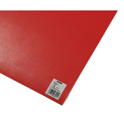 PP Sheet Red 970x570x0.75 mm