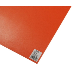 PP Sheet Orange 970x570x0.75 mm