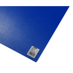 PP Sheet Blue 970x570x0.75 mm
