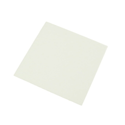 Acrylic Square 100 mm Square x 2 mm White