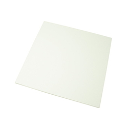 Acrylic Square 200 mm Square x 2 mm White
