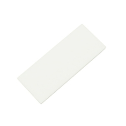 Acrylic Rectangle 50x20x2 mm White