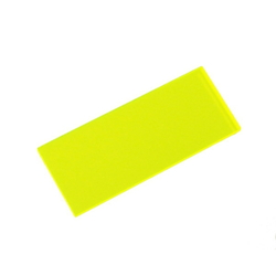 Acrylic Square 50 X 20 X 2 mm Fluorescent G