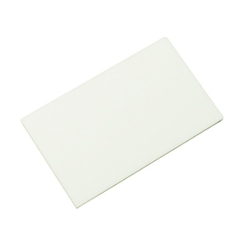 Acrylic Rectangle 50x30x2 mm White