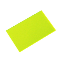 Acrylic Square 50 X 30 X 2 mm Fluorescent
