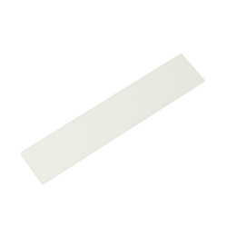 Acrylic Rectangle 100x20x2 mm White