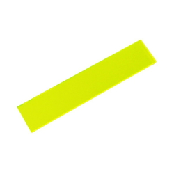 Acrylic Square 100 X 20 X 2 mm Fluorescent G