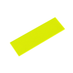 Acrylic Square 100 X 30 X 2 mm Fluorescent G