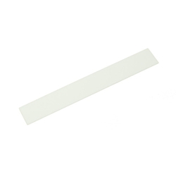 Acrylic Rectangle 150x20x2 mm White