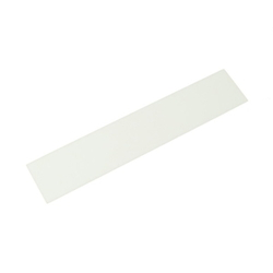 Acrylic Rectangle 150x30x2 mm White