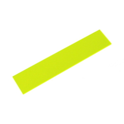 Acrylic Square 150 X 30 X 2 mm Fluorescent G