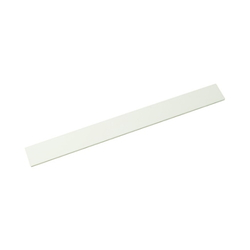 Acrylic Rectangle 200x20x2 mm White