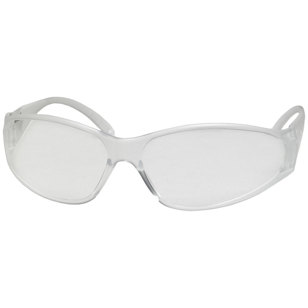 Boas® Economy, Clear Temple & Frame/Clear Uncoated Lens
